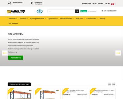 hhl.dk website