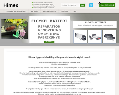 himex.dk website
