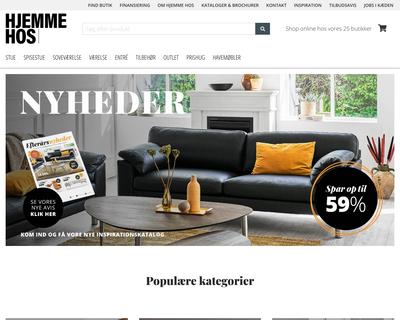 hjemmehos.dk website