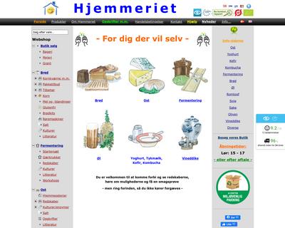 hjemmeriet.com website