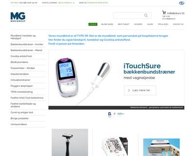 hjemmetest.dk website