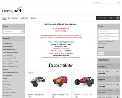 hobbykarl.dk website