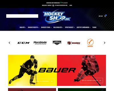 hockeyshop.dk website