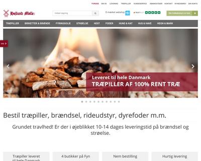 hojlund.dk website