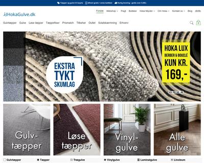 hokagulve.dk website