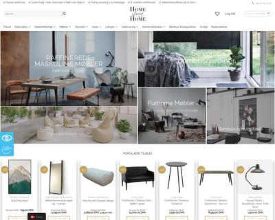 homesweethome.dk website