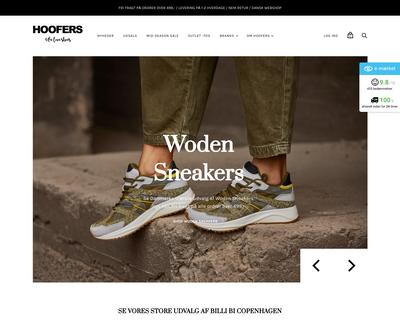 hoofers.dk website
