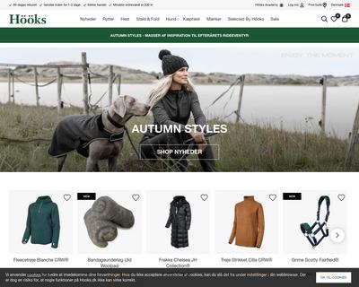 hooks.dk website