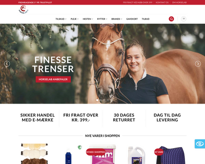 horselab.dk website