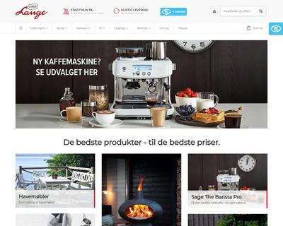 hoslange.dk website