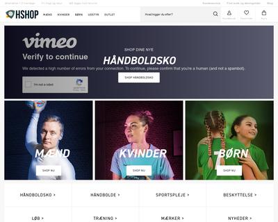 hshop.dk website