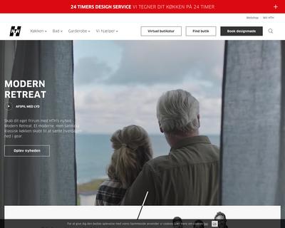 hth.dk website