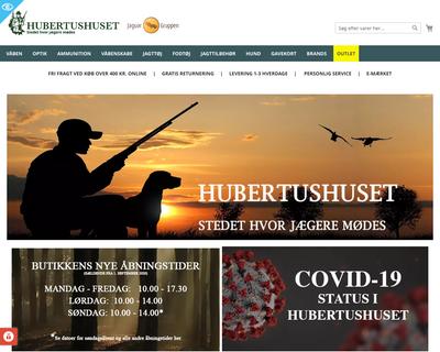 hubertushuset.com website