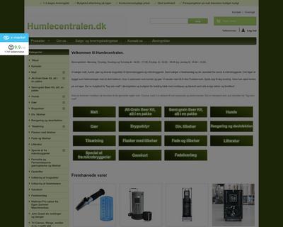 humlecentralen.dk website