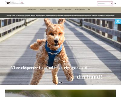 hundehjertet.dk website