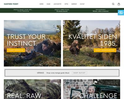 hunterspoint.dk website