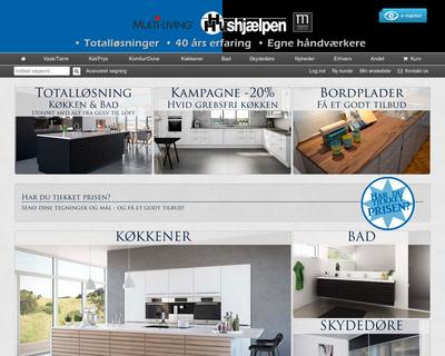 hushjaelpen.dk website