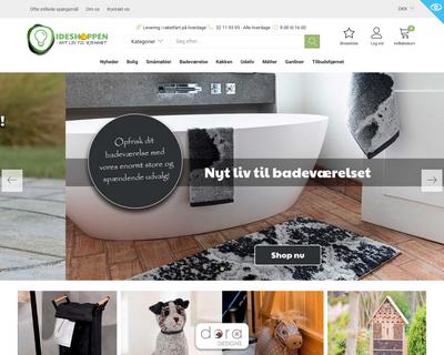 ideshoppen.com website