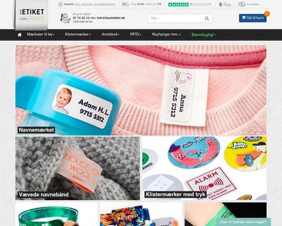 ikastetiket.dk website
