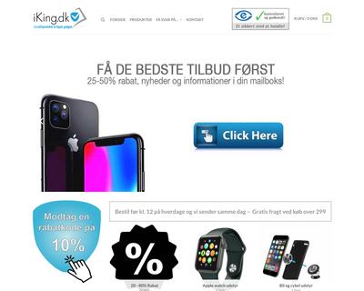 iking.dk website