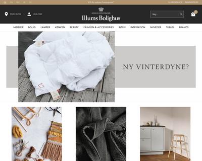 illumsbolighus.dk website