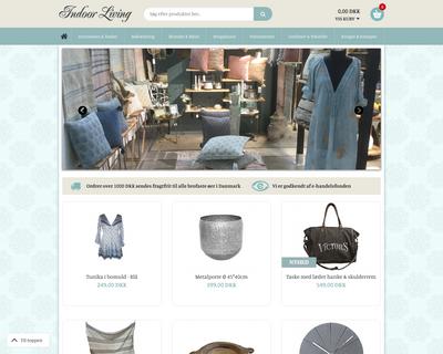 indoorliving.dk website