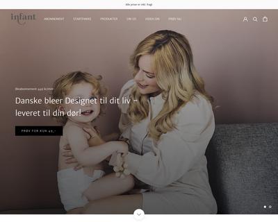 infant.dk website