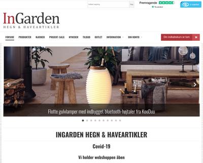 ingarden.dk website