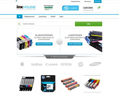 ink-house.dk website