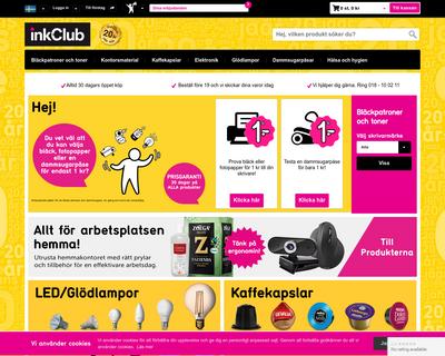 inkclub.com website