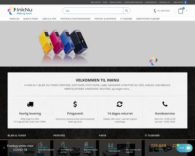 inknu.dk website