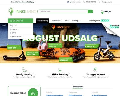 innoliving.dk website