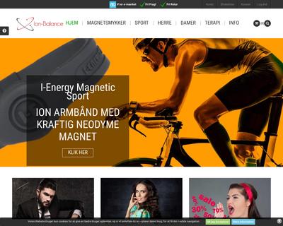 ion-balance.dk website