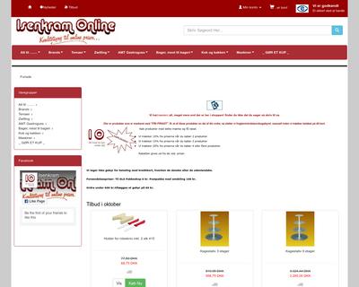 isenkram-online.dk website