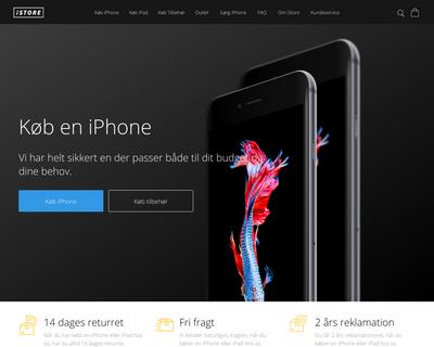 istore.dk website