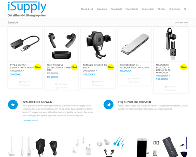 isupply.dk website