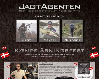 jagtagenten.dk website