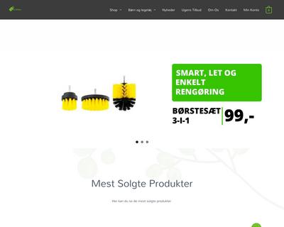jatakshop.dk website