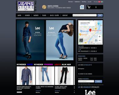 jeansstore.dk website