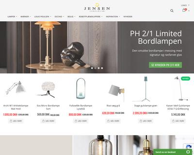 jensen-company.dk website