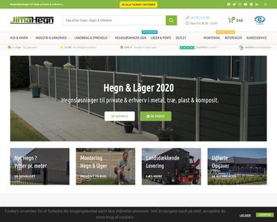 jimahegn.dk website