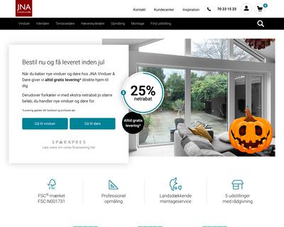 jna.dk website