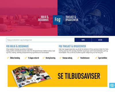www.johannesfog.dk website