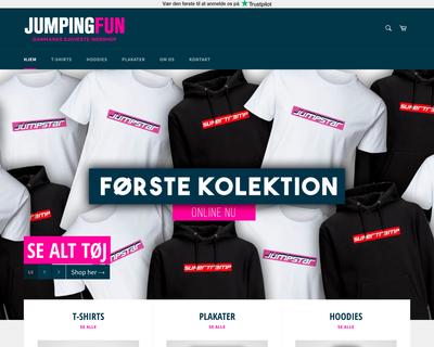 jumpingfun-shop.dk website