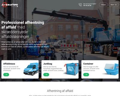 junkbusters.dk website