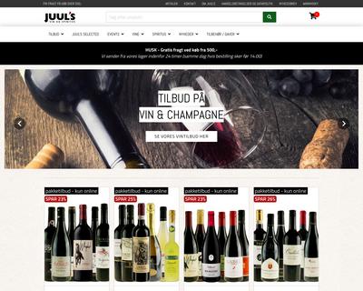 juuls.dk website