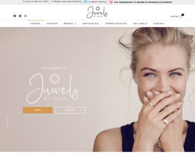 juwels.dk website