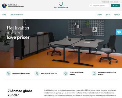 jyskmobelfabrik.dk website