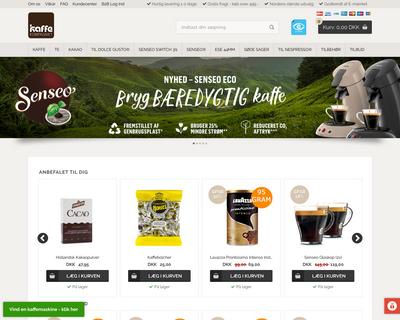 kaffekompagniet.com website