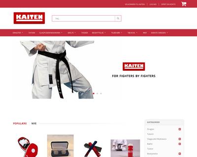 kaiten.dk website